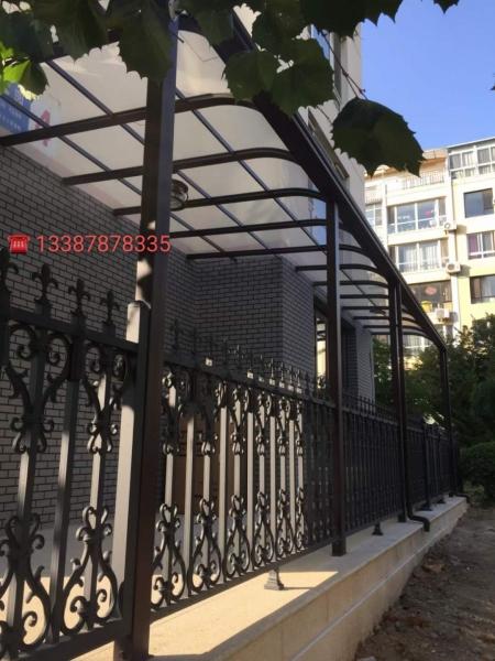 铝艺雨棚安装设计
